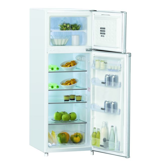 Whirlpool Réfrigérateur congélateur 2 portes WTE2512A+W Une technologie innovante et des fonctions spéciales qui vous aident à préserver la fraîcheur des produits alimentaires et vous assistent avec un ensemble de réglage