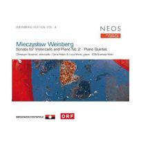 Neos - Intégrale vol.4 : Sonate pour violoncelle et piano n 2 & Quintette pour piano