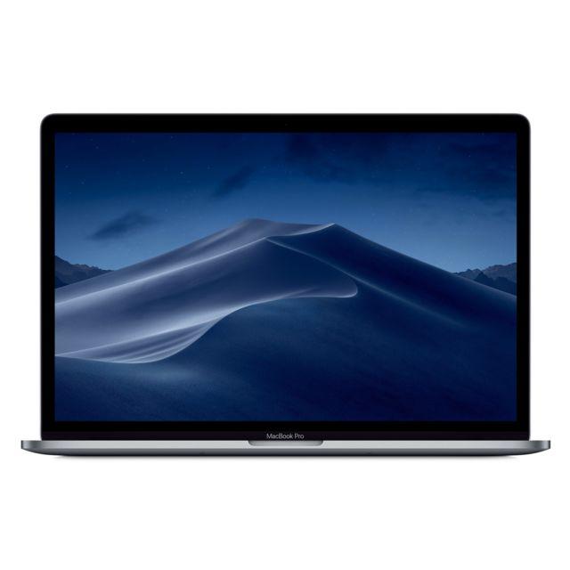 APPLE MacBook Pro 15 Touch Bar 2019 - 512 Go - MV912FN/A - Gris Sidéral