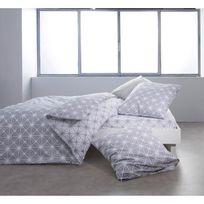 Finlandek - Chambre - Finlandek Drap housse Dolce 100% coton 160x200 cm gris