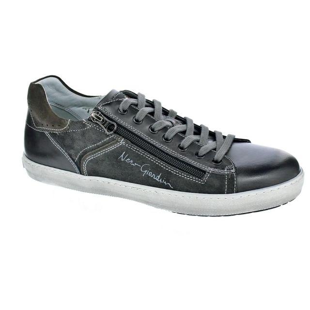 06937fe713b Nero Giardini - Chaussures Nero Giardini Homme Baskets basses modele 5360