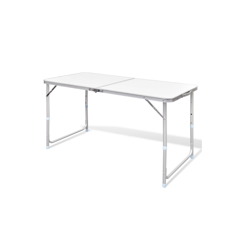 Rocambolesk - Superbe Table pliante de camping en aluminium avec hauteur ajustable Neuf