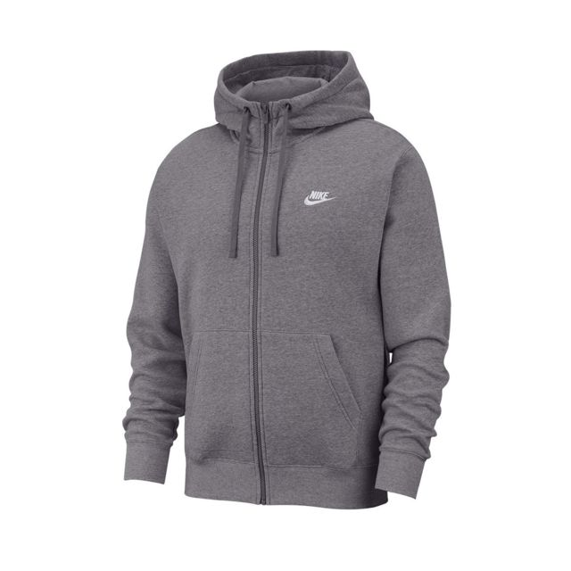 Nike Sweat à capuche Club Fleece Full Zip Bv2645 071