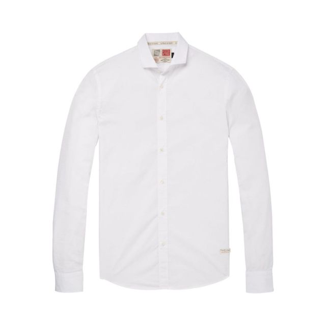 SCOTCH AND SODA Chemise slim fit rose homme taille L