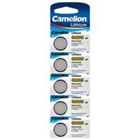 Camelion - Lot de 5 piles lithium Cr2025 3V