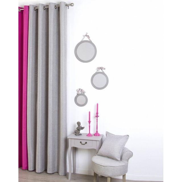 jja rideau 140x260cm lin pas cher achat vente rideaux rueducommerce. Black Bedroom Furniture Sets. Home Design Ideas