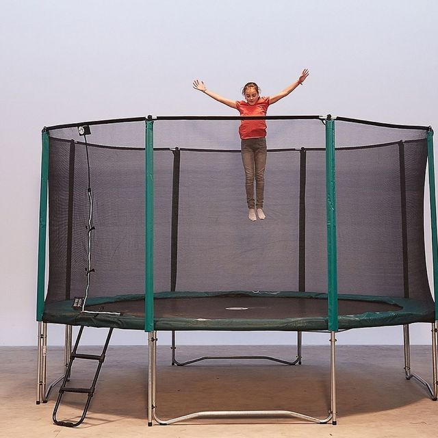 france trampoline pack jumpup 430 filet echelle pas cher achat vente trampolines. Black Bedroom Furniture Sets. Home Design Ideas