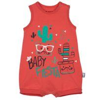 Petit Beguin - Barboteuse débardeur bébé garçon Mister Cactus - Taille - 9 mois 74 cm