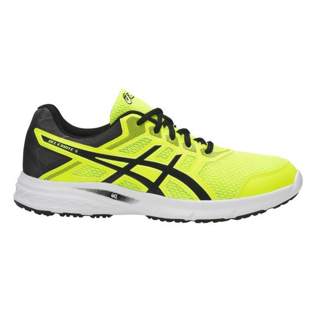 Asics Chaussures Gel Excite 5 jaune flashnoir pas cher