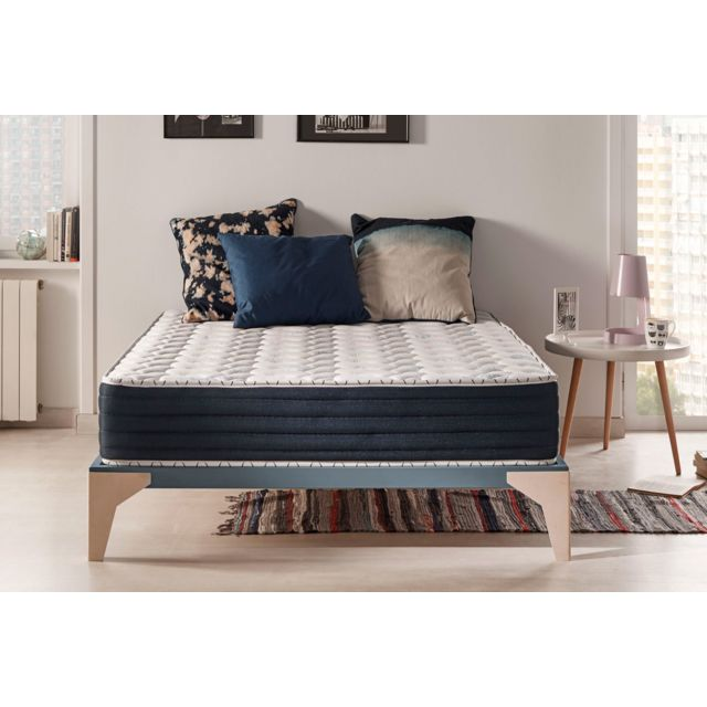 Naturalex Matelas Blue Memory 160x200 Cm Mousse Blue Latex A