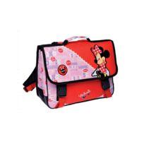 Minnie Et Ses Amies - Cartable Minnie Rouge Classic 38 Cm Haut de Gamme