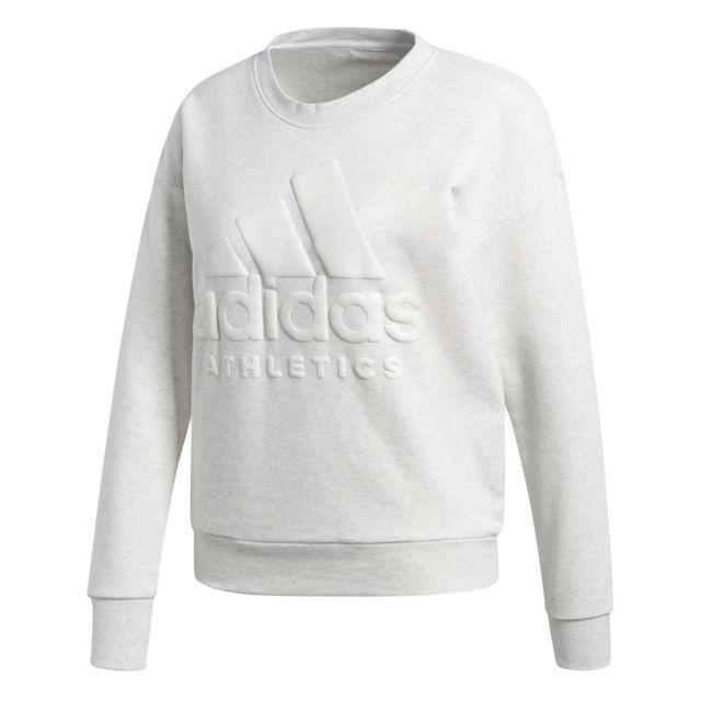 Adidas - Sweat femme Sport Id - pas cher Achat   Vente Tee-shirts ... ba4aed8da81