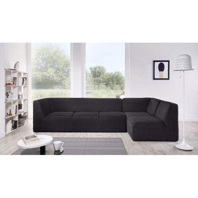 DUNLOPILLO EMOTION : Lounge XL GAUCHE - Disponible en 3 coloris