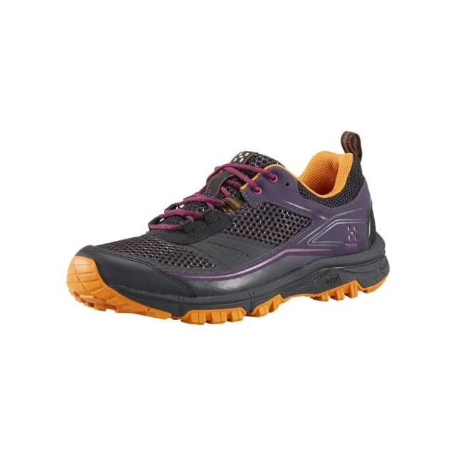 Haglofs Chaussures Haglöfs Gram Trail noir lilas orange femme
