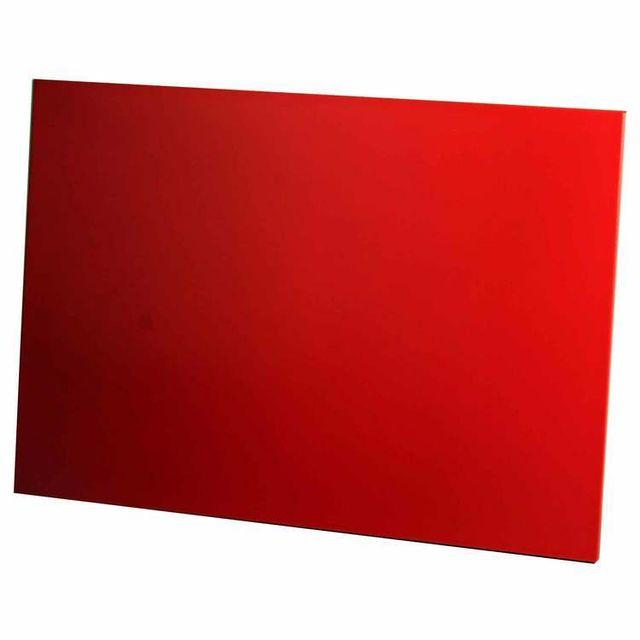 Pierre Henry Tableau magnétique métal Decor - Rouge - 34x56cm