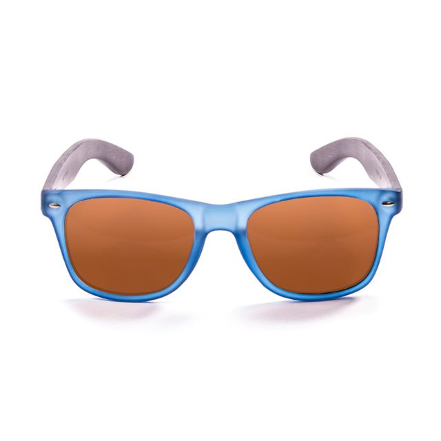 62bdd3bcd2a4b9 Buzzao - Ocean Sunglasses - Beachwood Bleu - pas cher Achat   Vente  Lunettes Tendance - RueDuCommerce