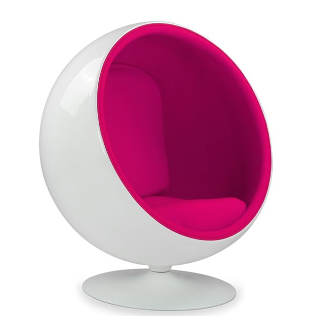Capsull Design Fauteuil ball chair - Rose