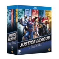 Coffret blu-ray justice league