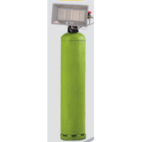 SOVELOR - Chauffage radiant gaz mobile propane Gamme SOLOR- 8200 CAP
