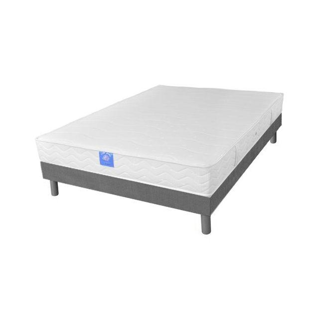 sardem belle literie matelas gekko sommier d co 90x190 gris pas cher achat vente. Black Bedroom Furniture Sets. Home Design Ideas