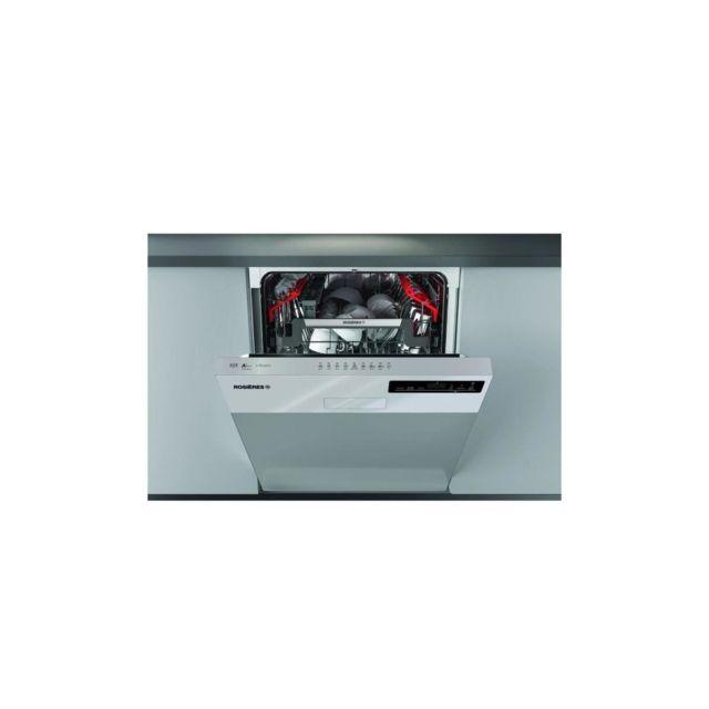 Rosières Rosieres Rdsn1d530px - Lave-vaisselle Encastrable - 15 Couverts - 44 Db - A+ - L60 Cm - Inox