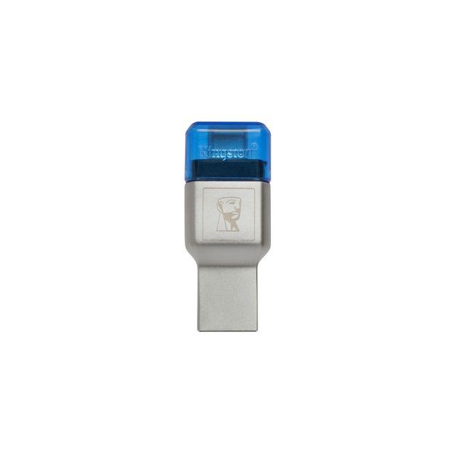 KINGSTON - MobileLite DUO 3C USB3.1+TypeC Lecteur de cartes microSDHC/SDXC