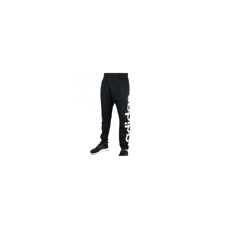 59c25cd1730 ADIDAS PERFORMANCE- Pantalon Jogging Lin Tap Noir Blanc - XS