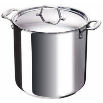 Bekaline - 12063284 Chef Traiteur + Couvercle en Acier Inoxydable de Haute Qualité Tous Feux + Induction 28 cm