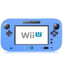 Wewoo - Pour Nintendo Wii U Bleu Étui de protection en silicone souple