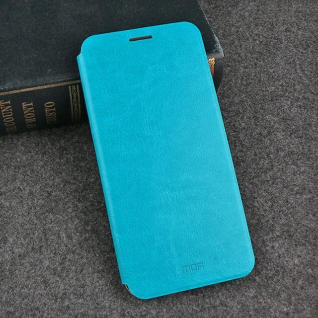 Housse Étui bleu pour Huawei Mate 10 Pro Crazy Horse Texture Horizontal  Flip Antichoc de protection en cuir avec support