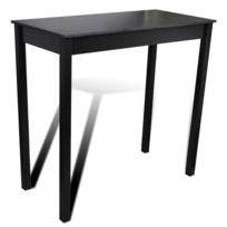 Rocambolesk - Superbe Table bar table haute cuisine rectangulaire 115 x 55 x 10 cm Neuf