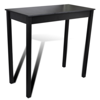 Vidaxl Table Bar Table Haute Cuisine Rectangulaire 115 X 55 107