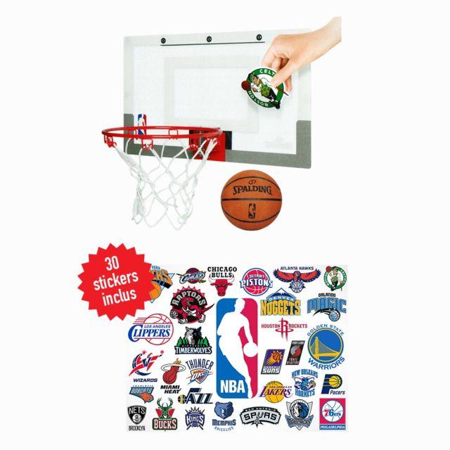 29e4a21261daf Spalding - Mini-panier Nba +30 Stickers - pas cher Achat / Vente Panier de  basket - RueDuCommerce