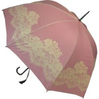 Blooming Brollies - Parapluie Vintage Motif Dentelle - Rose - Automatique