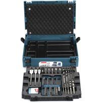 Makita - Coffret ensemble d'accessoires 66 pièces en coffret MAK-PAC - B-43044