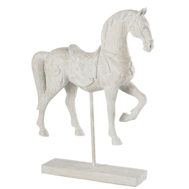 Jolipa Statue Cheval Déco 36 cm