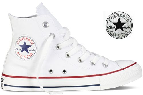 Converse - Chaussures All Star Chuck Taylor Blanc Optical ...