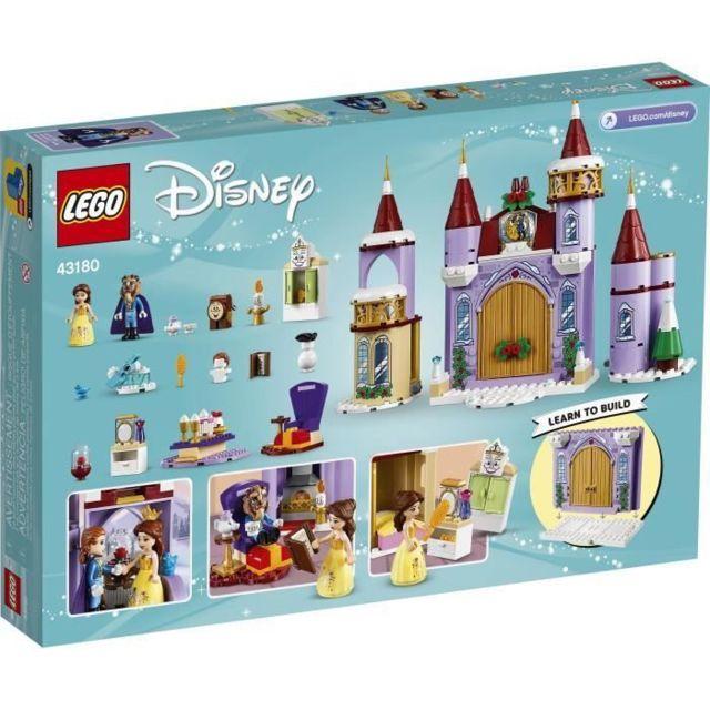 Icaverne Jeu D'ASSEMBLAGE - Jeu De Construction - Jeu De Manipulation Disney Princess™ 43180 La fete d'hiver dans le château de B