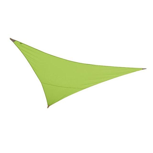 soldes jardiline voile d 39 ombrage triangulaire 3x3x3m vert pomme vsf300 vert pomme pas cher. Black Bedroom Furniture Sets. Home Design Ideas