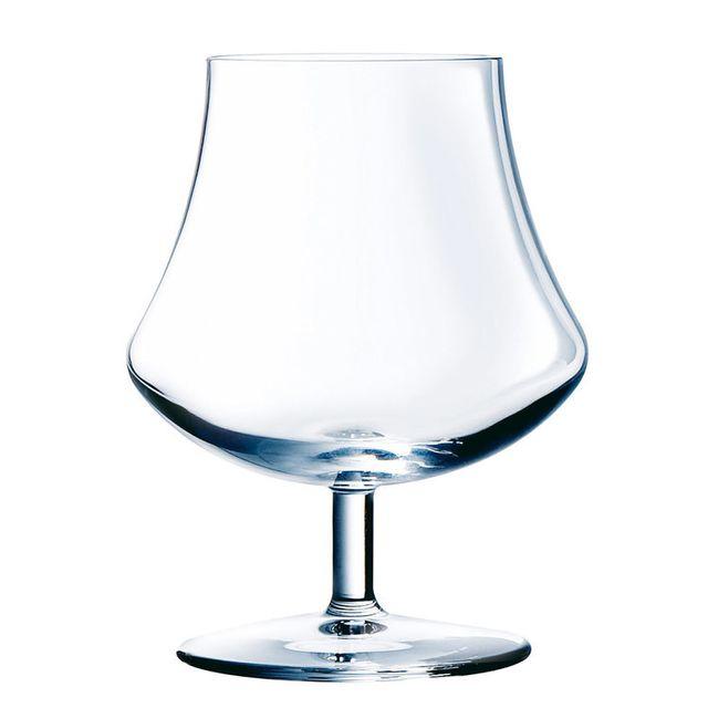 Chef Et Sommelier Verre à cognac en kwarx Ardent transparent 39cl - Coffret de 6 Open Up Spirit