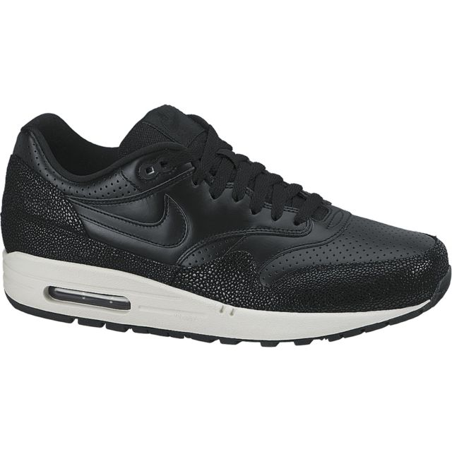 Nike Basket Air Max 1 Leather 705007 001 pas cher Achat