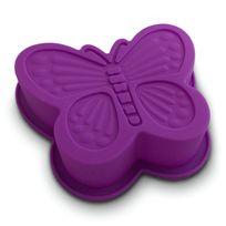 Totalcadeau - Moule à gâteau spécial en silicone, en forme de papillon
