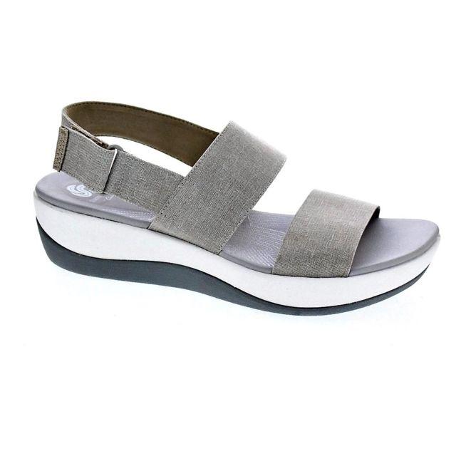 fae953f7ef3f52 Clarks - Chaussures Femme Sandales modele Arla Jacory - pas cher Achat / Vente  Sandales et tongs femme - RueDuCommerce