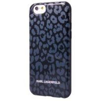 Karl Lagerfeld - Coque Tpu Kamouflage Grise Pour Apple Iphone 6