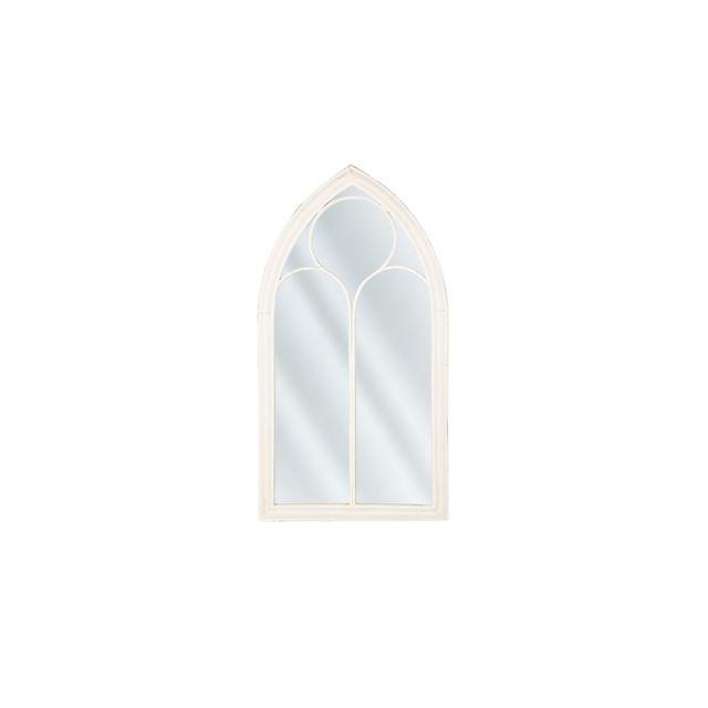 BELIANI Miroir blanc 61 x 112 cm TRELLY - blanc