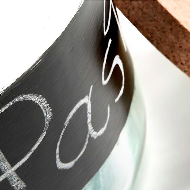 Kavehome - Bocal Olsen, 18 cm Negro, Neutro - 29cm x 25cm x 20cm - 29