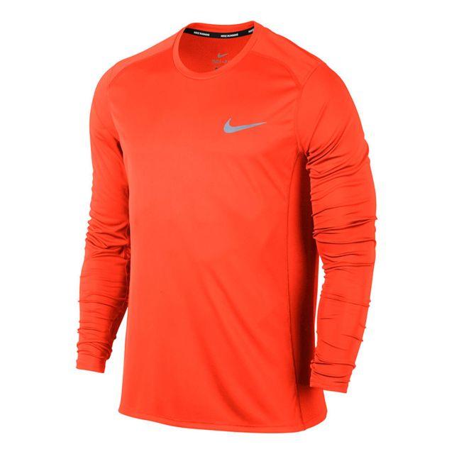Shirt Achat Pas Manche Top T Miler Cher Dry Orange Nike Longue 5w8UvqPAx ff0b56afced