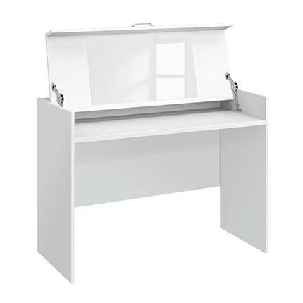 Coiffeuse 100x112x53cm - blanc