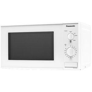 PANASONIC - micro-ondes 20l 800w blanc - nn-e201wmepg