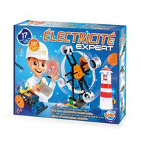 BUKIFRANCE - Coffret scientifique Electricité Expert